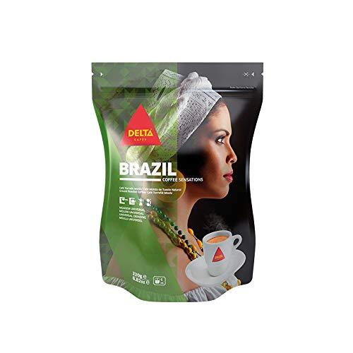 Delta Molido Origen Brazil G, Café, 220 Gramo