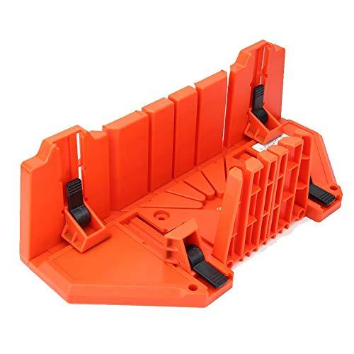 Verstekbak voor verstekzaag, 14 inch multifunctioneel 90 ° 45 ° 22,5 ° handzaagdoos houtbewerkingssnijgereedschap, handmatig spannen verstekdoos