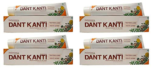 4x100 gm. Ramdev Divya Dant Kanti Toothpaste