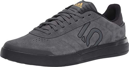 Five Ten Sleuth DLX Mountain Bike Shoe - Men's Grey Six/Black/Matte Gold 10