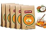 lifetone the tea for better life, Latte de cúrcuma | Mezcla de cúrcuma, coco, canela y miel | Alto contenido de curcumina | 100 sobres