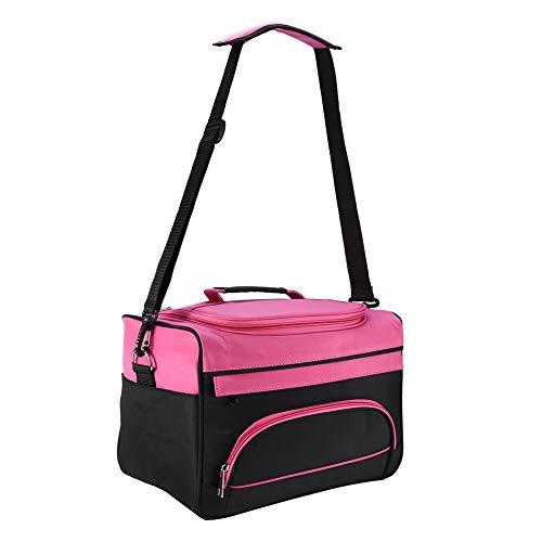 Borsa professionale per parrucchieri, con tracolla e scomparti interni regolabili, borsa per saloni borsa per parrucchiere borsa portatile per pettine borsa da viaggio