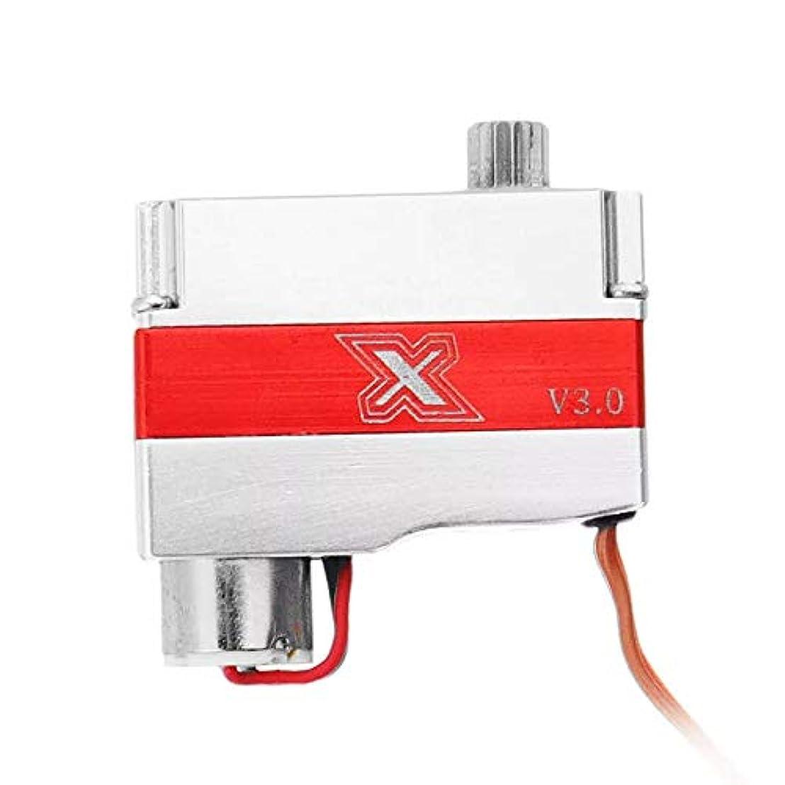 パスタ正確に鎮静剤Absir ために X08N V3.0メタルギア8gデジタルウィングコアレスサーボ(RCモデル用)