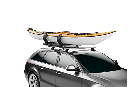 Thule Hullavator has lift assistance which makes loading kayaks easy as pie.
