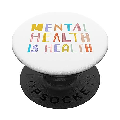 La salud mental es el mes de la retroalimentación positiva PopSockets PopGrip: Agarre intercambiable para Teléfonos y Tabletas