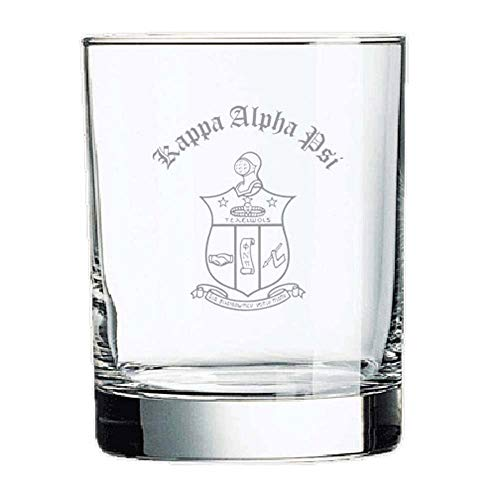 Kappa Alpha Psi Old Style Glass Transparent