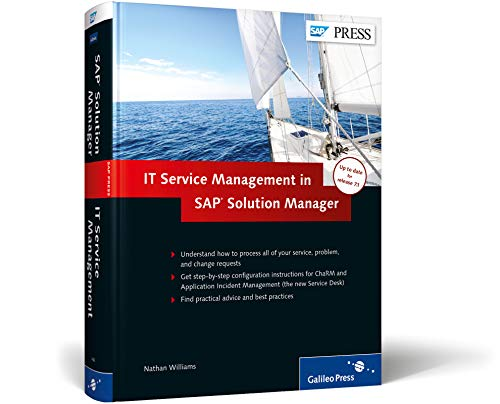 ITSM and ChaRM in SAP Solution Manager (SAP PRESS: englisch)