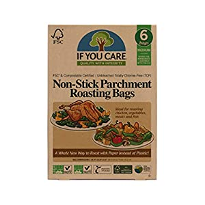 Regency Wraps RW1142 Parchment Paper Cooking Bags for Cooking and Papillote Set of 4