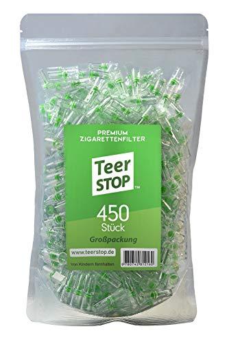 Teer Stop Zigarettenfilter (450 Stück)