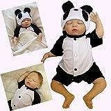 ZIYIUI Realista 20 Pulgadas 50cm Muñecas Reborn Bebé Niño Hechas a Mano Bebé Vinilo Suave Silicona como Regalo o Juguete Reborn Baby