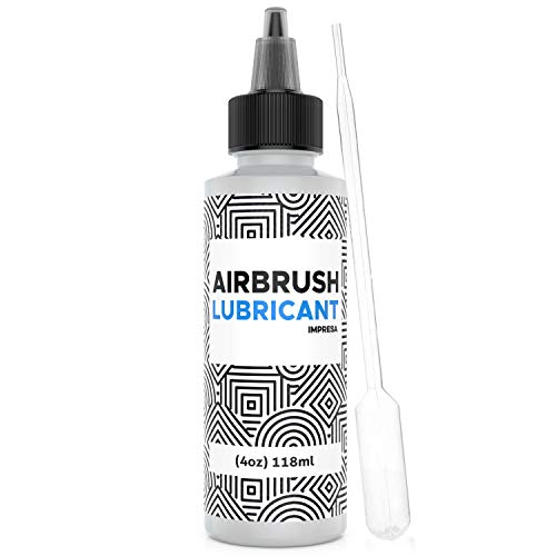 4 oz Airbrush Lubricant for Smoother Airbrush Trigger Action and Reducing Needle Friction from Dry Paint Build Up Made in USA