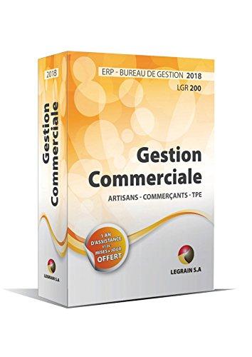 Version 2018 - Logiciel de Gestion Commerciale - ERP pour les Artisans, Commerçants, TPE - BIC - Bureau de Gestion LGR200 - Un an d'assistance + Mise à jour pendant un an