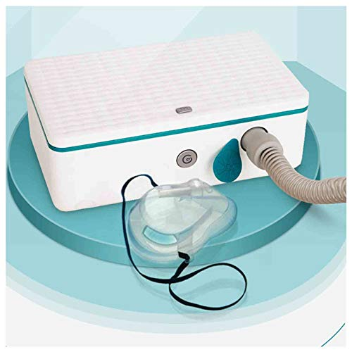 HBIAO CPAP-Reiniger UV/Ozon-Dual-Mode-Reinigungsgerät CPAP Automated Sanitizing CPAP Mask, mit 4 Adaptern