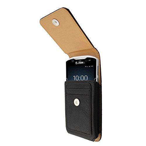 caseroxx Handy Tasche Outdoor Tasche für Zebra TC51 / TC52 / TC56 / TC57, mit drehbarem Gürtelclip in schwarz