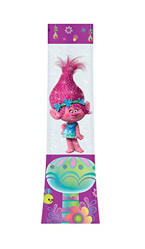 Joy Toy 67682 Trolls LED Glitzerlampe, Mehrfarbig