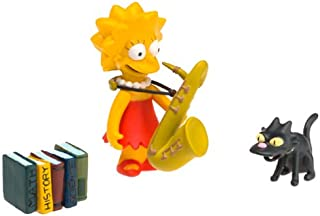 The Simpsons Wave 1 Action Figure Lisa Simpson Hard to Find!