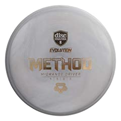 FLIGHT RATINGS – Speed 5, Glide 5, Turn, 0, Fade 3 METHOD – The method is an overstable midrange that can handle pro level power on backhand and forehand shots. Low profile Method in Exo Plastic. HARD EXO PLASTIC - The Hard Exo plastic gives the Link...