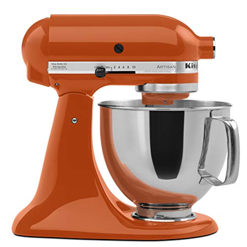 KitchenAid Artisan Series 5-Qt. Stand Mixer with Pouring Shield - Persimmon
