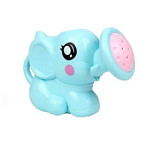 Un Jouet Mignon de baignade d'éléphant utile pour Le bébé appréciant Le Temps de baignade avec la Maman (Bleu 1 pc)