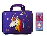 Best Kid Earphones - Aarvi Magic Unicorn Multi-Layer Large Capacity Hardtop Bag Review