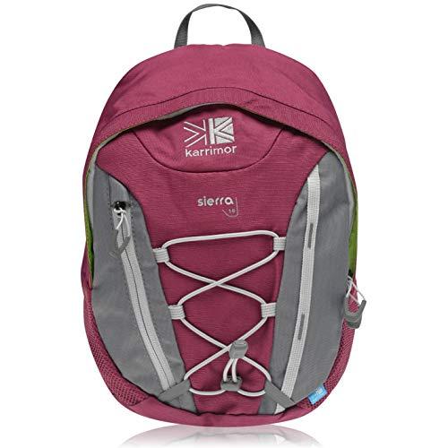 Karrimor Unisex Sierra 10 Backpack Back Pack Drawstring Compact Boysenberry One Size