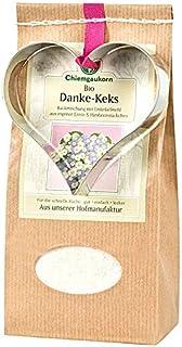Chiemgaukorn Bio Chiemgauer Danke-Keks, Backmischung mit Keks-Ausstecher 270 g