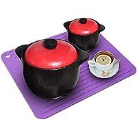 2-Pack Mofason Heat Resistant Mat Pot Holder Thick & Heavy