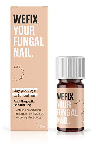 WeFix Anti Nagelpilz Lack 5 ml | Anti Nagelpilz Behandlung | Vorbeugender Schutz | Stoppt Nagelpilz in 20 Sekunden | Nagelpilz Creme Alternative