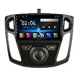 2 DIN Car Stereo Radio De Coche De 9 Pulgadas HD Pantalla Táctil Bluetooth Manos Libres Radio Auto FM/USB/AUX IN con Cámara De Visión Trasera, para Ford Focus 3 2012-2015,Octa Core,4G WiFi 2+32