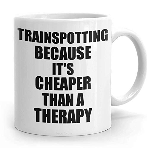 PassionWear Trainspotting Taza más barata que una terapia R