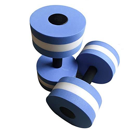 hinffinity Wasser Hanteln Aqua Hanteln Aquatic Sports Foam Hanteln Fitness Barbells Übungshandgriffe Wasseraerobic Fitnessgeräte Zur Gewichtsreduktion - 1 Paar