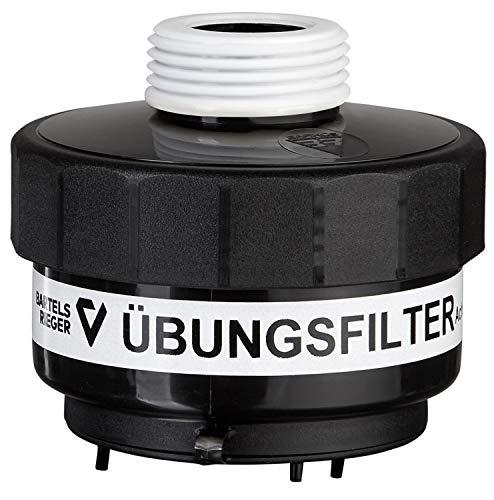 Übungsfilter für Feuerwehr und Rettungsdienste - Rundgewindeanschluss M45x3 - Simulation ABEK P3 Atemschutzfilter