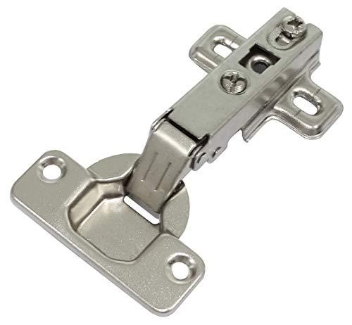 AERZETIX: 4X Bisagras de cazoleta Rectas Apertura 110° para Puerta de Muebles C41037