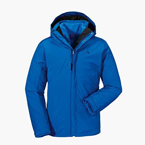 Schöffel Herren 3in1 Jacket Turin1 wind- und wasserdichte Winterjacke mit herausnehmbarer Inzip Fleecejacke, warme und bequeme Regenjacke