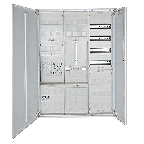 Komplett-Zählerschrank für Wärmepumpe, ENBW BW, 1x Zähler/1x Reserve/1x Verteiler