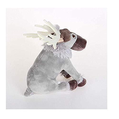 N-L Plush Toy 20Cm Kawaii Anime Reindeer by Sven Kristoff Friend Svee Solf Stuffed Plush Toys for Children