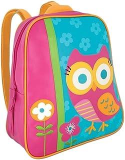 Stephen Joseph Owl Go Go Backpack for Girls - Multi Color