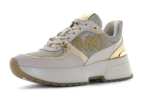 Michael Kors Sneaker Low Ballard Trainer Gold Damen - 38 EU