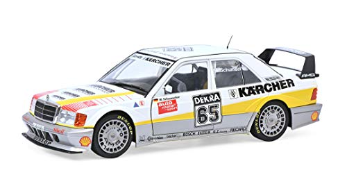 Solido 421185850 Mercedes Benz 190E Evo2#65, Fahrer: M. Schumacher, DTM, Modellauto, Maßstab 1:18