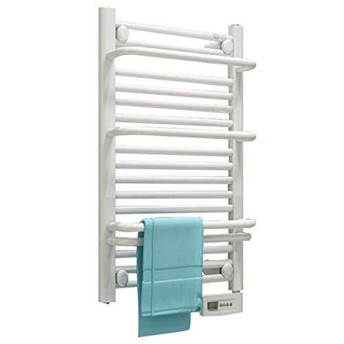 ZXCV Toallero Electrico Blanco Temperatura Constante Inteligente Rack De Pared IPX4 Impermeable A Prueba De Humedad Protección Silenciosa Y Ambiental 75 * 45 * 12 Cm (Color : Right)