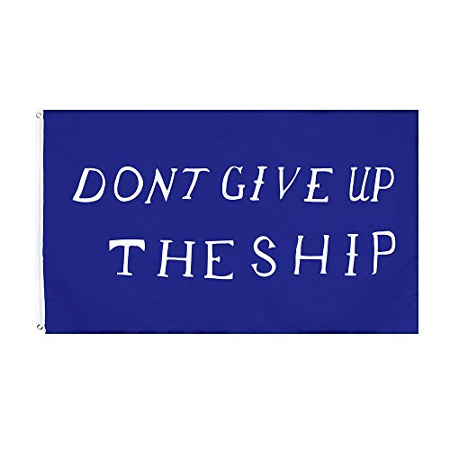PringCor Large 3x5ft Flag Dont GIVE UP The Ship Banner Dorm Man Cave History Navy Dad USA