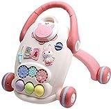 Andador de actividades para bebés, andador, juguetes educativos electrónicos con canciones, sonidos y oraciones, juguetes educativos, desarrollo intelectual