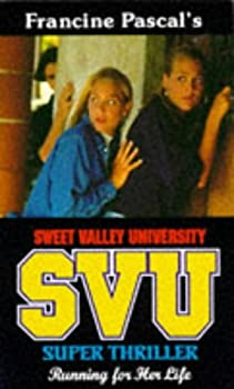 Paperback Sweet Valley University Running for Her Life Book