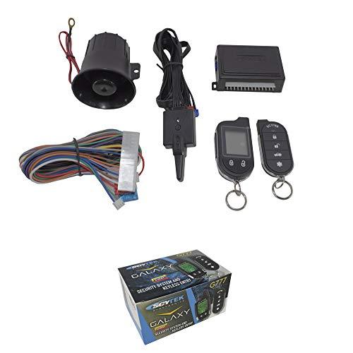 ScyTek Galaxy G777 2 Way Car Alarm Anti Theft Security System Keyless Entry