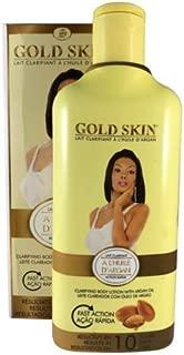 Gold Skin Clarifying Body lotion With Argan Oil 450ml. 15.21oz.