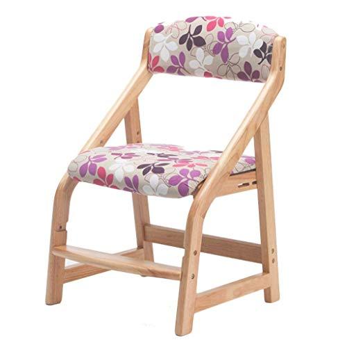 Sedia da cucina multifunzione, telaio in legno massiccio, altezza regolabile, posizione seduta spessa, componente, sedia per il tempo libero Jhfk