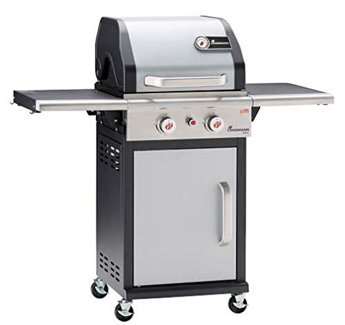 Landmann 12901 - Barbacoa (8000 W, Grill, Gas, 8 Person(s), Grate, Black,Stainless Steel)