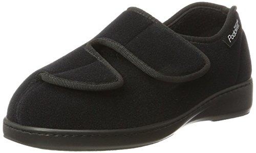 Podowell Unisex-Erwachsene Athos Sneaker, Schwarz (Schwarz 7107010), 43 EU
