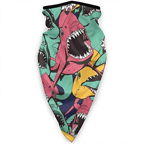 Lfff Windproof Sports Mask Sharks Multi Function Outdoor BalaclavaT