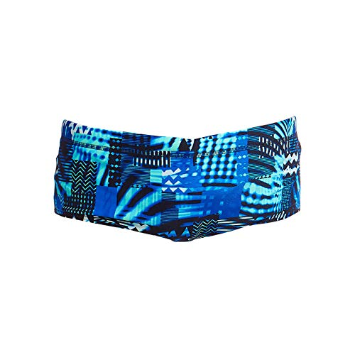 Funky Trunks Jungen Classic Trunks Electric Nights Badehose (AUS 14/176)